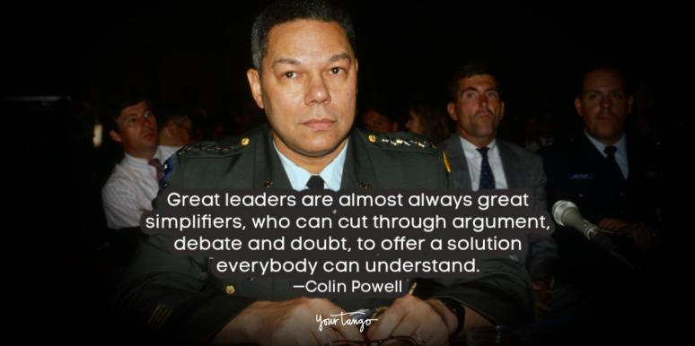 41 Powerful Quotes From General Colin Powell On Leadership & Success
